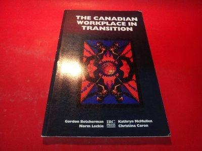【愛悅二手書坊 06-30】The Canadian workplace in transition