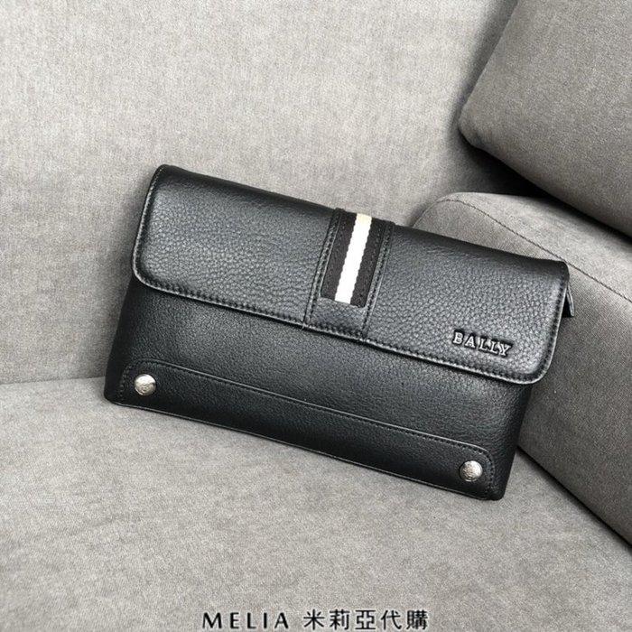 Melia 米莉亞代購 bally 貝利 2108新款 春季新品 男士款 真皮 牛皮 手拿包 輕便好拿 大容量