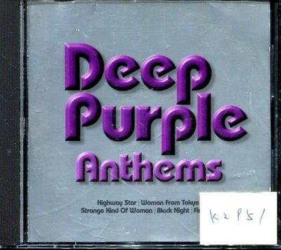 *真音樂* DEEP PURPLE / ANTHEMS 歐版 二手 K2951(109下標賣)