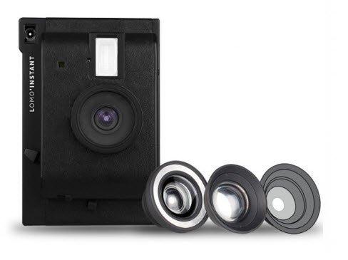 【eWhat億華】 Lomography Lomo Instant Black + 3 款鏡頭套裝 拍立得 公司貨 現貨 黑色 【2】