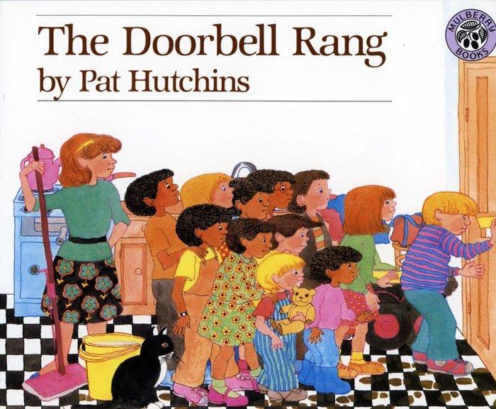 *小貝比的家*The Doorbell Rang 門鈴又響了/ 平裝書/3~6歲/ 數學/汪培珽--第二階