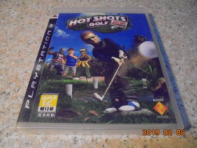 PS3 全民高爾夫 英文版 Hot Shots Golf:Out Of Bounds 直購價300元 桃園《蝦米小鋪》
