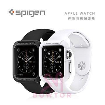 光華商場。包你個頭【SGP】Apple Watch(42mm) Rugged Armor 彈性 防震 保護殼 黑