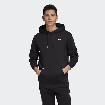 【Dr.Shoes】Adidas Hoodie 男裝 藍 保暖 休閒 袋鼠口袋 運動 帽T 長袖 連帽T恤 FK9979