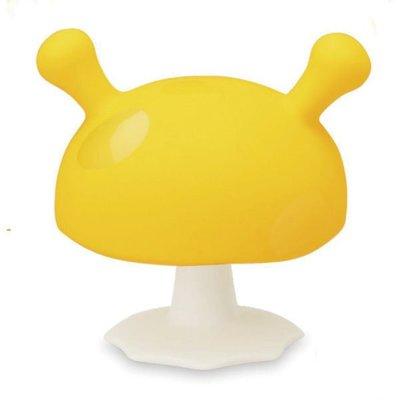 英國 mombella Q比小蘑菇固齒器-黃