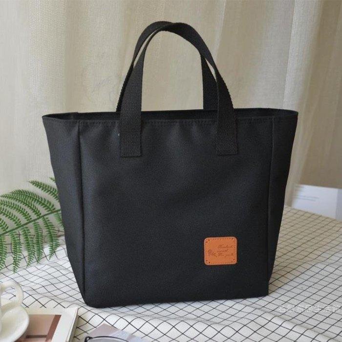便當袋便當袋正韓清新大號便當袋防水便當袋牛津布媽咪飯袋手提袋