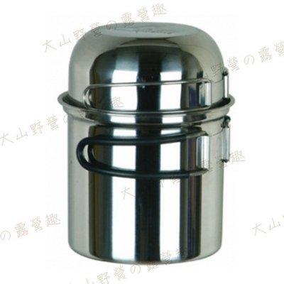 【大山野營】野樂 ARC-301 輕量 攜帶個人炊具 單人鍋 不鏽鋼鍋 登山 露營 一人鍋
