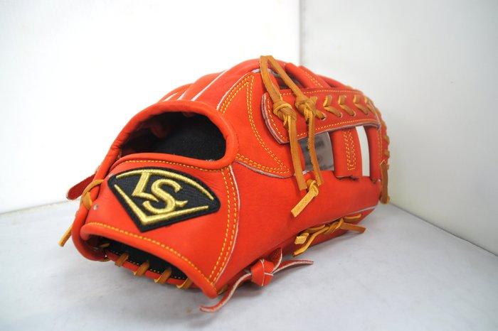 《星野球》Louisvelle Slugger 訂製版 棒壘球手套 日系紅 十字檔