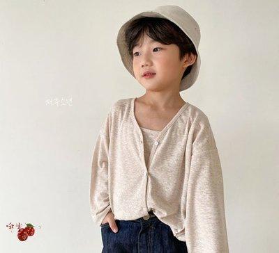 ✿啾米韓國童裝♪~21夏~WITTY BOY~甜度開衫~WB0505-42【8折】【17-19售價為540】