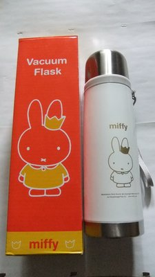 miffy 米飛兔不鏽鋼真空保溫瓶 450ml 特價350元