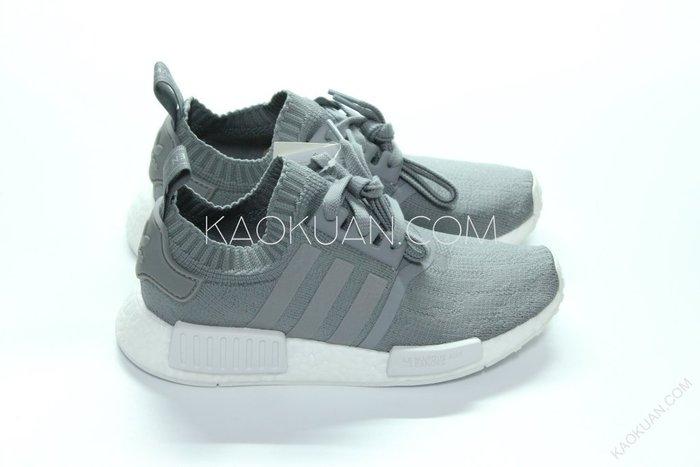 【高冠國際】Adidas WMNS NMD_R1 – Grey Three 法文 編織 灰 慢跑鞋 女鞋 BY8762