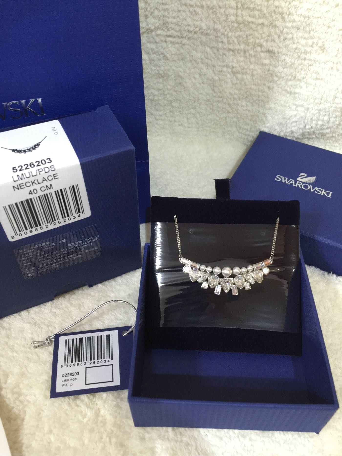 全新Swarovski 施華洛世奇Festivity Small Necklace項鍊(5226203)