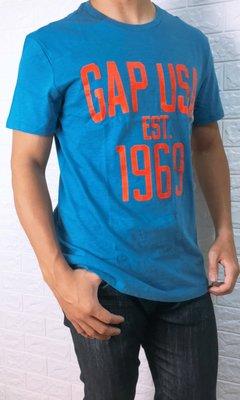 Look 鹿客 GAP 日版1969 休閒男短袖T恤 989096