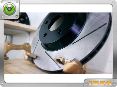 泰山美研社Y4142  加大碟 碟盤 FORD TIERRA 單片式後煞車套件 300mm