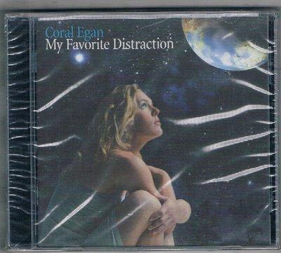 [鑫隆音樂]西洋CD-Coral Egan : My Favorite Distraction {JUST1912}全新