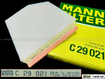 938嚴選 MANN 空氣芯 適用於 S60 V60 S90 V90 XC60 XC90 二代 引擎進氣濾網