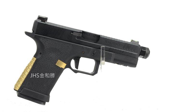 JHS((金和勝 槍店))免運費 WE SA-BL0200 HI-CAPA G19-BLU 瓦斯手槍 4843