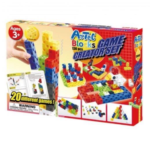 Artec日本彩色積木-遊戲創作組