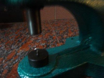 愛心手工材料鋪 五金配件 手壓台模具 打洞器 鉚釘 蘑菇釘 四合扣 用 打洞器