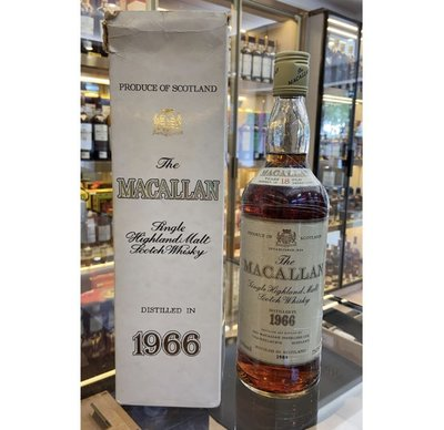 The Macallan 18 Years Old 1966 (75cl,43%)