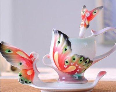 咖啡杯   新骨瓷 時尚高檔禮物 送女友的浪漫禮物