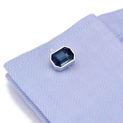 hello小店-法式 多彩水晶系列 人造水晶 袖扣袖釘袖口釘男士#袖扣#裝飾品#飾品#