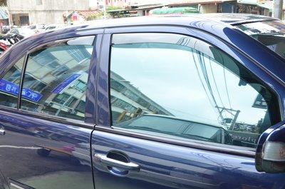 比德堡崁入式晴雨窗  賓士BENZ  E320/W210 1996-2002年專用 原廠品質 (全車四片價)