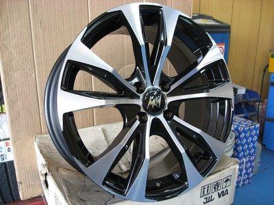 16吋(SPADA)鋁圈+16吋輪胎~適用:SWIFT.YARIS.TIIDA.LIVINA.FIESTA(完工價)