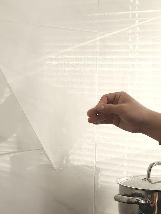 SX千貨鋪-透明廚房防油貼紙耐高溫瓷磚墻貼灶臺家用防水自粘油煙機櫥柜貼紙