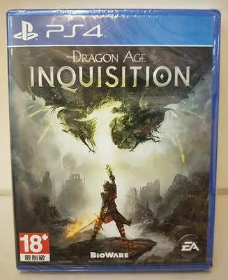 【全新未拆】PS4 Sony 闇龍紀元: 異端審判 Inquisition (英文首版) $600