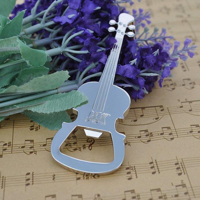 【愛樂城堡】音樂生活=吉他造型開瓶器~音樂禮品/婚禮小物/音樂贈品