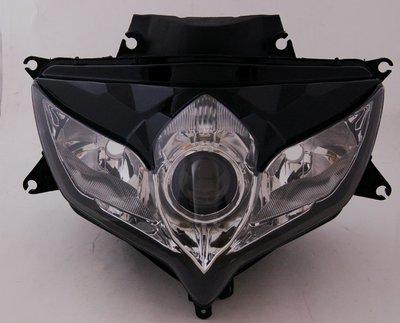 降價《極限超快感!!》Suzuki GSXR 600/750 2008-2010 K8 大燈殼組 透明/燻黑