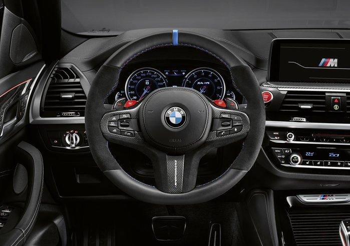 【樂駒】 BMW F97 X3M F98 X4M M Performance 方向盤 碳纖維飾蓋 撥片 套裝組