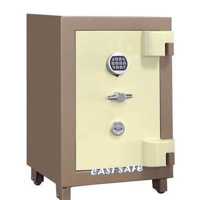 《凱斯特保險箱》AE-6N小型按鍵式保險櫃-防盜防火金庫-公司保險箱-居家珠寶箱-商業保管箱-收納櫃~再鎖功能-臺製免運
