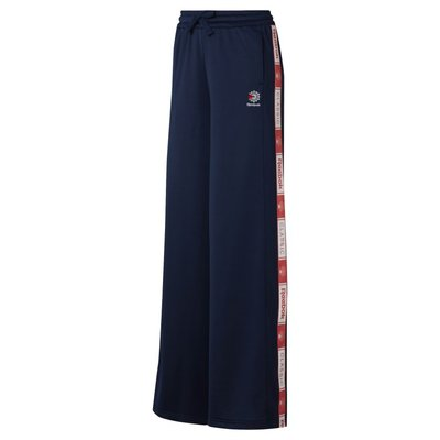 =CodE= REEBOK CLASSIC TRACK PANTS 寬口運動長褲(藍桃紅)DT7265 喇叭褲 套裝 女