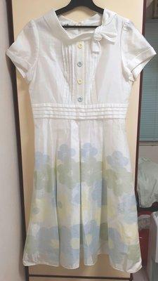 銀穗 淡雅花卉洋裝 特價950含運費類似巧帛,0918,Le polka,iroo