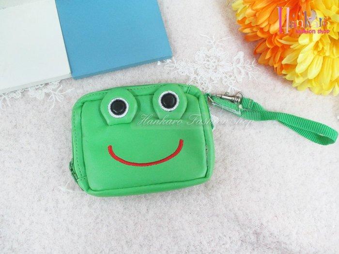☆[Hankaro]☆可愛青蛙造型零錢包(樣品出清)