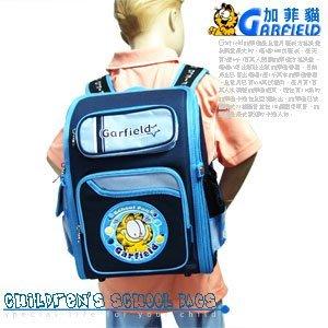 【Garfield 加菲貓】超輕健康護脊書包.背包.包包 P043-GAR1344【推薦+】