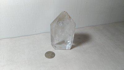 天然白水晶柱~開運能量~重約700克~編號CT15-4