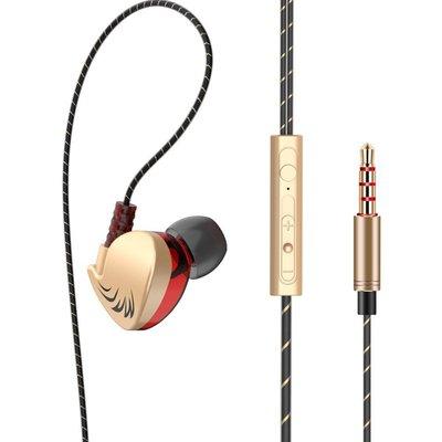有料百貨~新品~現賣~QKZ CK7時尚運動重低音通用手機耳機 帶線控重低音耳塞耳機y1s227771交換禮物