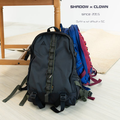 ►Shadow x Clown◄ Nike ACG Karst 29L後揹包 (黑色 / 藍紅) CK7510-010