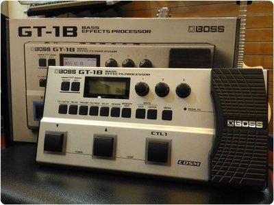 ♪♪學友樂器音響♪♪ BOSS GT-1B 貝斯綜合效果器