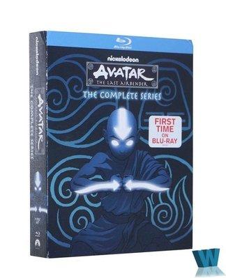 【樂視】 高清藍光BD Avatar The Last Airbender降世神通 未刪減完整版9碟 精美盒裝