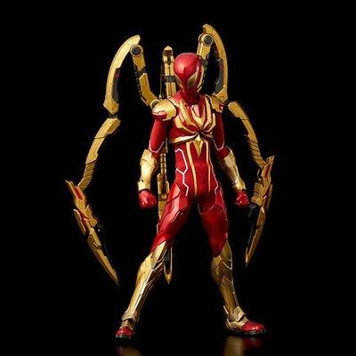 二手 千值練 RE:EDIT 1/6 漫畫版 Spider-Man 鋼鐵蜘蛛人