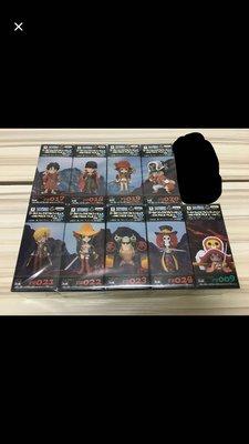 全新 One Piece 海賊王 DWC WCF Film Z 路飛 卓洛 山治 ( POP DXF Grandline Gold Stampede 一番獎