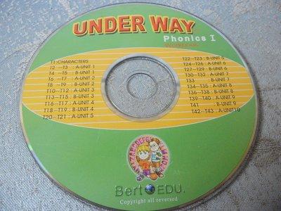 【彩虹小館】X30兒童CD~UNDER WAY phonics I ~Bert EDU