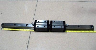 滑軌 長度58.5公分  滾珠螺桿 滑台 線性滑軌 定位控制器 伺服馬達 自動化控制 )