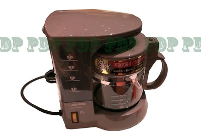 ~ZOJIRUSHI 象印 4人份 美式咖啡機【EC-TBF40】特殊玻璃保護圈,不易破裂~
