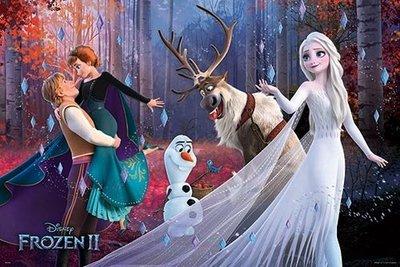 【街頭巷尾】Frozen冰雪奇緣2(1)夜光拼圖1000片-HPD1000-005