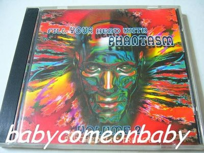 舊CD英文合輯-FILL YOUR HEAD WITH PHANTASM VOLUME 2幻影舞祭超級系列第二集(保存良好)